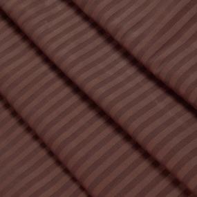 Ткань на отрез Страйп сатин полоса 3х3 см 240 см 140 гр/м2 В011 фото