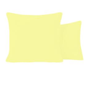 Наволочка бязь гладкокрашенная 120 гр/м2 70/70 цвет желтый фото