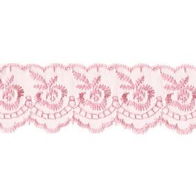 Шитье капрон 40 мм/9 м 968 цвет 004 розовый фото
