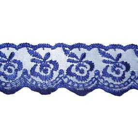 Шитье капрон 40 мм/9 м 968 цвет синий фото