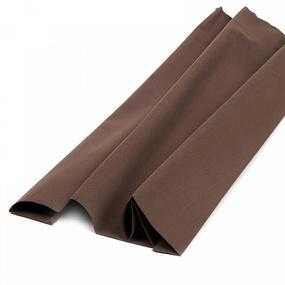 Набор листового фоамирана 021/1 (191) цв.темно-коричневый 1 мм уп.50 листов 30х35 см фото