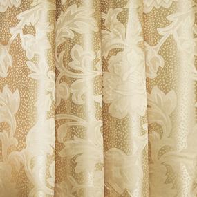 Мерный лоскут портьерная ткань 150 см 22 цвет бежевый ветка фото