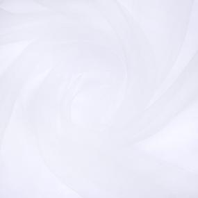 Мерный лоскут вуаль 280 см цвет 1 белый фото