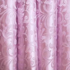 Мерный лоскут портьерная ткань 150 см 21 цвет розовый ветка-лист фото