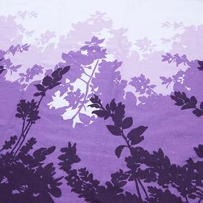 Мерный лоскут Бязь Шуя 220 см 76192 цвет фиолетовый фото