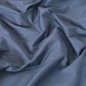 Ткань на отрез сатин гладкокрашеный 220 см 18-4020 цвет морская волна фото