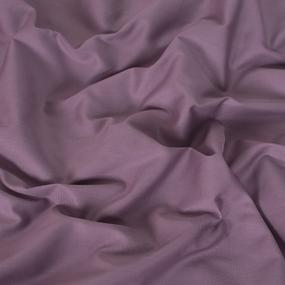 Ткань на отрез сатин гладкокрашеный 220 см 17-1610 цвет брусника фото