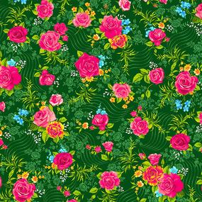 Фланель Престиж 150 см набивная арт 525 Тейково рис 21210 вид 4 Роза фото