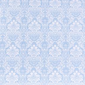 Поплин 220 см 115 г/м2 391/3 Дамаск цвет голубой фото