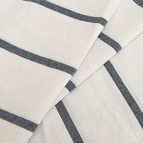 Ткань на отрез тик матрасный х/б 200 см 160 гр/м2 фото