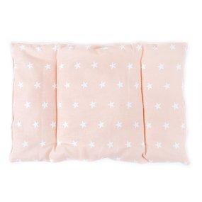 Подушка для новорожденных 40/60 цвет персиковый фото
