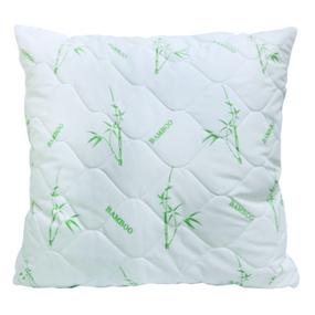 Подушка Бамбук чехол хлопок тик 60/60 фото