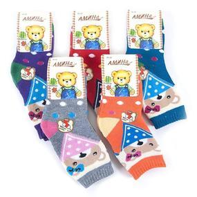 Детские теплые носки 2313/1 Амина бамбук 18-22 фото