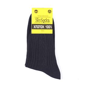 Мужские носки СМ-10 Skysocks цвет черный размер 25 фото