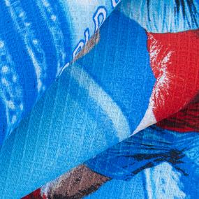 Полотенце вафельное пляжное 21048/1 Футбол 150/75 см фото