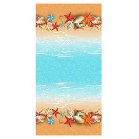 Полотенце вафельное пляжное 18958/1 150/75 см фото