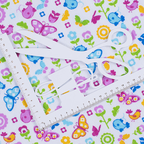 Ткань на отрез фланель 75 см цвет 5081/1 фото