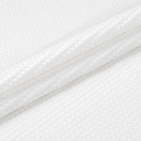 Вафельное полотно отбеленное 7х7 мм премиум 150 см 240 гр/м2 фото