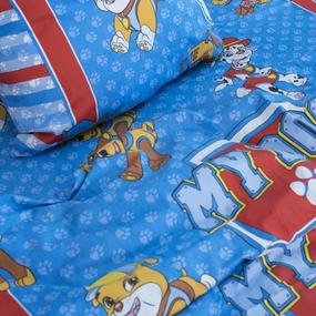 Детское постельное белье из поплина 1.5 сп 1884 Щенячий патруль 1.5 сп. поплин фото