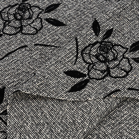 Весовой лоскут №1.50 Драп-жаккард серый 1,5 х 0,7м; 1,5 х 0,6м; 1,5 х 0,4м 1,040 кг фото