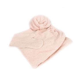 Набор для сауны женский цвет персиковый фото