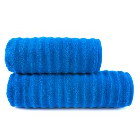 Полотенце велюровое Shockwave 50/90 см цвет синий фото