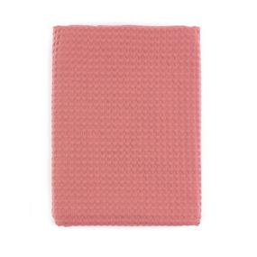 Полотенце вафельное банное Премиум 150/75 см цвет 145 коралл фото