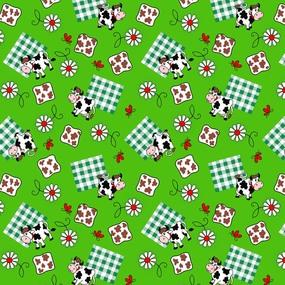 Ткань на отрез вафельное полотно 45 см 144 гр/м2 0698/1 цвет зеленый фото