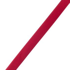 Косая бейка ширина 15 мм (144 ярд) цвет 162 алый фото