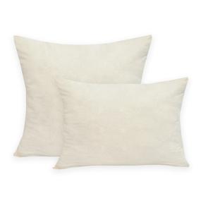 Подушка ПЭФ микрофибра стеганая цвет бежевый 50/70 фото