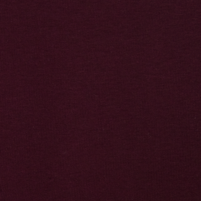 Ткань на отрез футер 3-х нитка компакт пенье начес цвет темно-бордовый фото