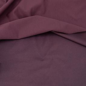 Ткань на отрез футер с лайкрой 1702-1 цвет темно-лиловый фото