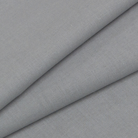 Бязь гладкокрашеная ГОСТ 150 см цвет серый фото