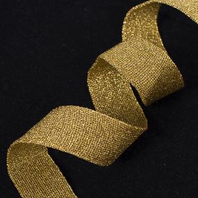 Лампасы №44 золото с люрексом 2,5см уп 10 м фото