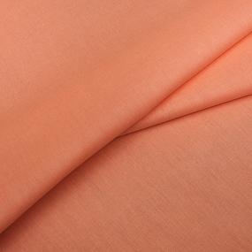 Бязь гладкокрашеная 120 гр/м2 220 см ТД цвет 261 персик фото