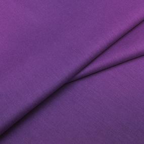 Бязь гладкокрашеная 120 гр/м2 220 см ТД цвет 28 черничный мусс фото