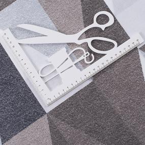 Ткань на отрез поплин 220 см Лофт 11368/1 основа фото