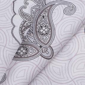 Ткань на отрез поплин 220 см Эмилия 10924/1 компаньон фото
