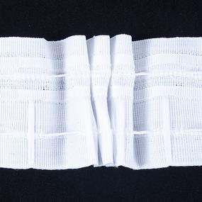 Тесьма шторная 606 ширина 60 мм (50 м) фото
