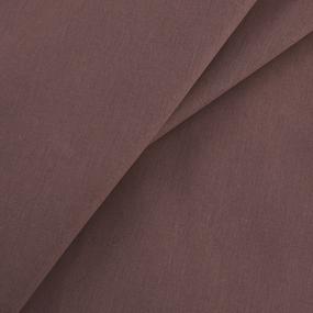 Бязь гладкокрашеная 120гр/м2 220 см на отрез цвет шоколад фото