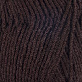 Пряжа для вязания Ализе LanaGold (49%шерсть, 51%акрил) 100гр цвет 26 коричневый фото