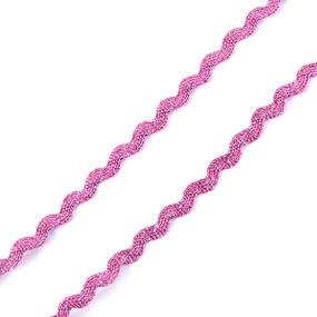 Тесьма плетеная вьюнчик (МЕТАНИТ) С-2914 (3621) г17 уп 20 м ширина 7 мм (5 мм) рис 8657 цвет 077 фото
