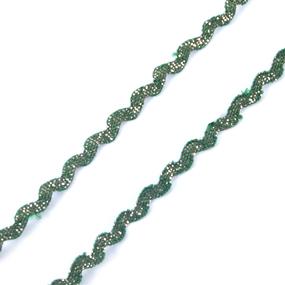Тесьма плетеная вьюнчик (МЕТАНИТ) С-2914 (3621) г17 уп 20 м ширина 7 мм (5 мм) рис 8657 цвет 194 фото
