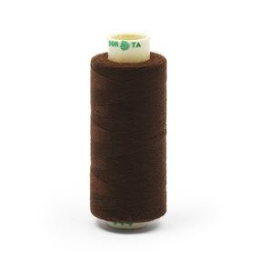 Нитки бытовые Dor Tak 40/2 366м 100% п/э, цв.344 коричневый фото