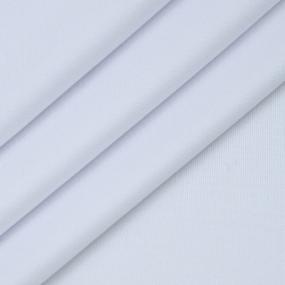 Ткань на отрез бифлекс цвет белый фото
