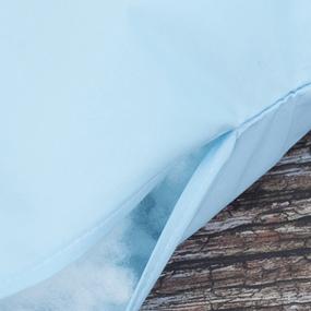 Наперник тик Красный Октябрь цвет Голубой 60/60 фото