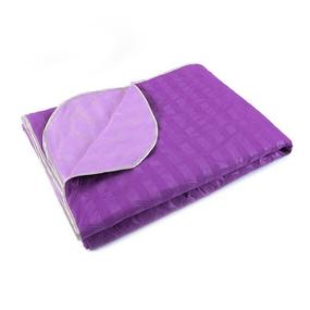 Покрывало ультрастеп двухстороннее цвет фиолетовый 150/210 см фото