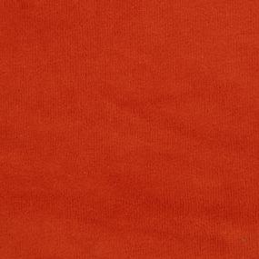 Ткань на отрез велюр цвет оранжевый фото