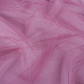 Маломеры еврофатин мягкий матовый Hayal Tulle HT.S 300 см цвет 014/058 пыльная роза 0.9 м фото