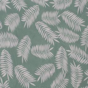 Ткань на отрез Прадо Листья цвет мята фото